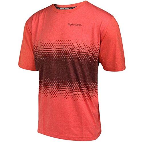 Troy Lee Designs T-Shirt Network Starburst Burnt Orange