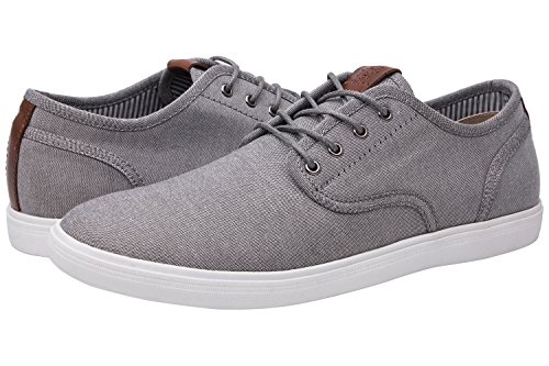 - GLOBALWIN Mens 1802 White Grey Casual Fashion Sneakers Size 10