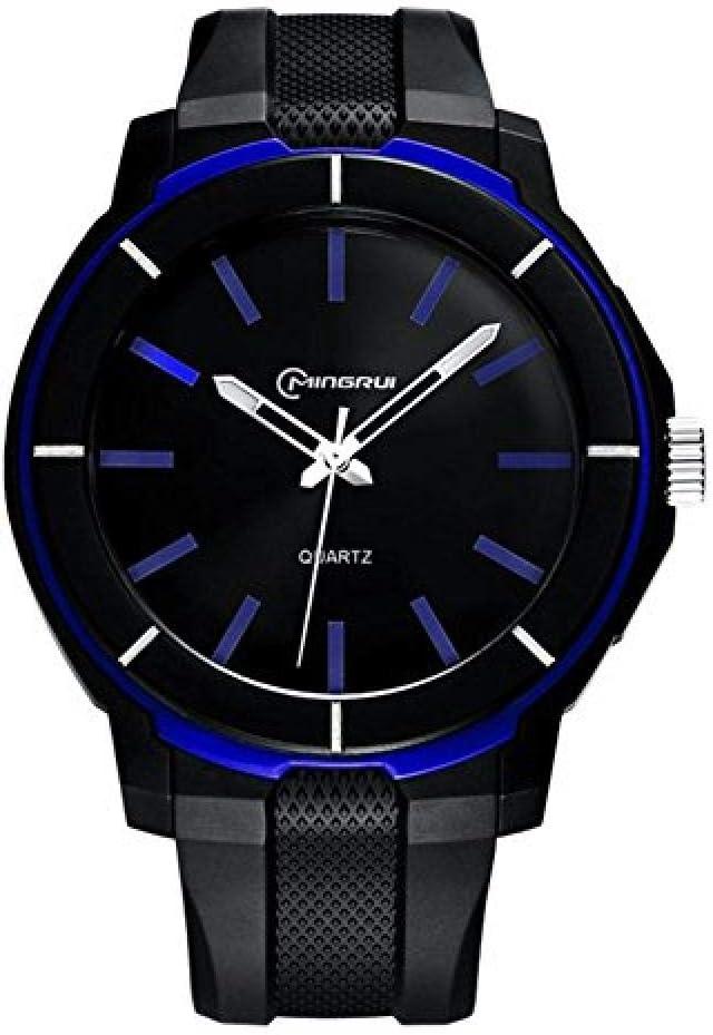 Relojes Hombre Elegantes,un Reloj literario para jóvenes, Relojes de Cuarzo electrónicos, Reloj Impermeable para jóvenes @ 1
