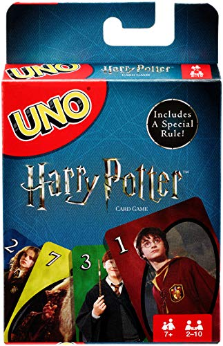 10 Halloween Games (Mattel Games Uno Harry Potter Card)