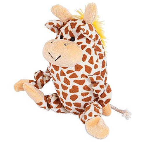 zoobilee stretchies giraffe dog toy
