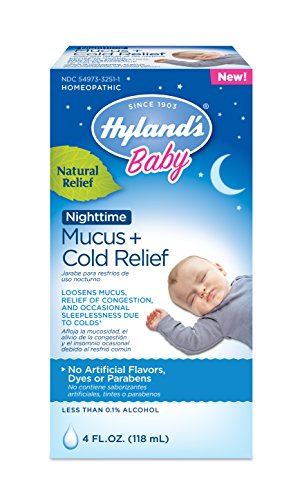Hyland's Baby Nighttime Mucus + Cold Relief