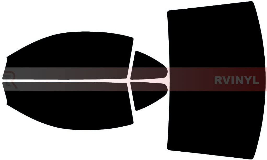 TINTGIANT PRECUT SUN STRIP WINDOW TINT FOR FORD MUSTANG COUPE 90-93