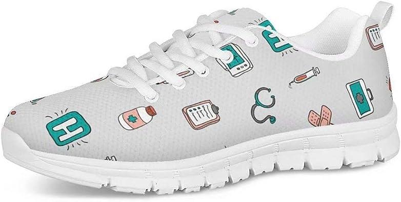 POLERO - Zapatillas deportivas para mujer y hombre, divertidas, con...