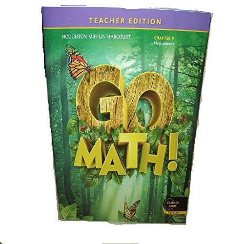 Go Math! Grade 1 Teacher Edition Chapter 9: Measurement (Common Core Edition)