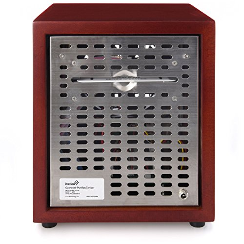 Ivation Ozone Generator Air Purifier, Ionizer & Deodorizer – Purifies Up to 3,500 Sq/Ft – Great for Dust, Pollen, Pets, Smoke & More by Ivation (Image #4)
