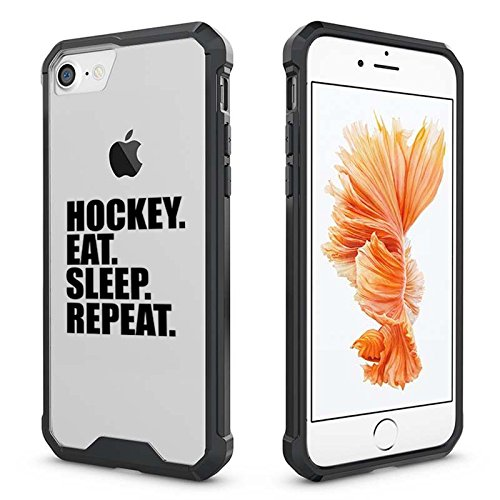new concept 1af7b 6be6d Amazon.com: For Apple iPhone Clear Shockproof Bumper Case Hard Cover ...