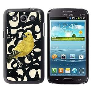 For Samsung Galaxy Win / I8550 / I8552 / Grand Quattro Case , Spring Bird Numbers Abstract - Diseño Patrón Teléfono Caso Cubierta Case Bumper Duro Protección Case Cover Funda