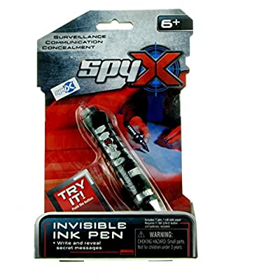 SpyX Invisible Ink Pen - Write and Read Invisible Messages with This Fun Spy Toy. Perfect Addition for Your spy Gear Collection!: Toys & Games