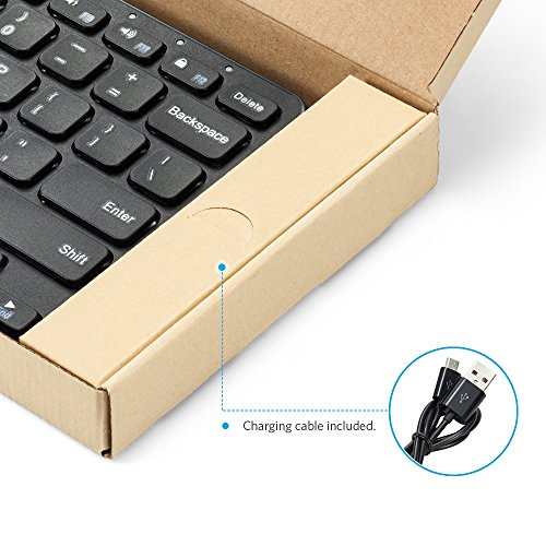9c3a6d43910 Anker Ultra Compact Slim Profile Wireless Bluetooth Keyboard - Import It All