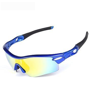 FRFG Gafas de Sol polarizadas Gafas de Bicicleta Deportes al Aire Libre Gafas de Montar Gafas