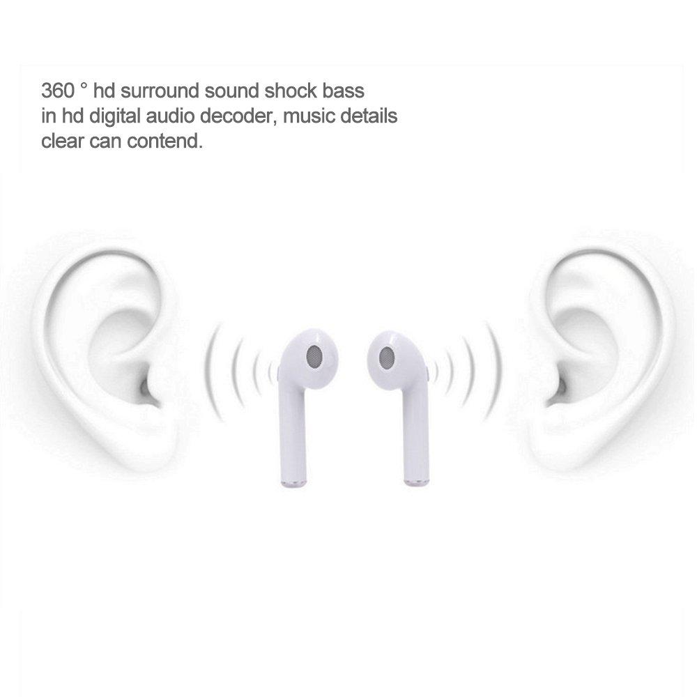 Bluetooth auriculares, Tie langxian hbq-i7 TWS producto patentado inalámbrico auriculares Bluetooth con carga Box Mini Binaural estéreo para todos los ...