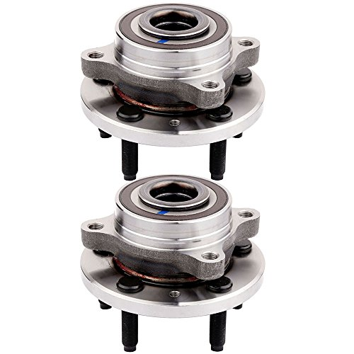 (ECCPP Replacement for Wheel Bearing Hub 513275 X 2 Hub Bearing Assembly Hub Assemblies Rear and Front Axle 5 Lugs for Ford Edge,Ford Explorer,Ford Flex, Ford Taurus, Lincoln etc)