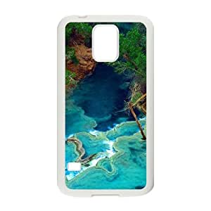 YAYADE Phone Case Of Waterfall For Samsung Galaxy S5 I9600