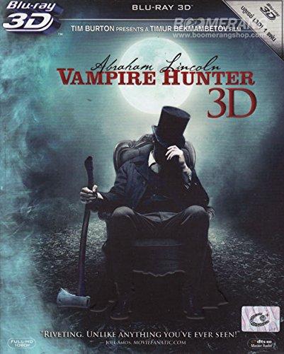 Abraham Lincoln: Vampire Hunter (2012)(Blu-ray 3D, Region A)