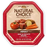 Nutro Natural Choice Adult Dog Food Beef & Potato Slices in Gravy Review