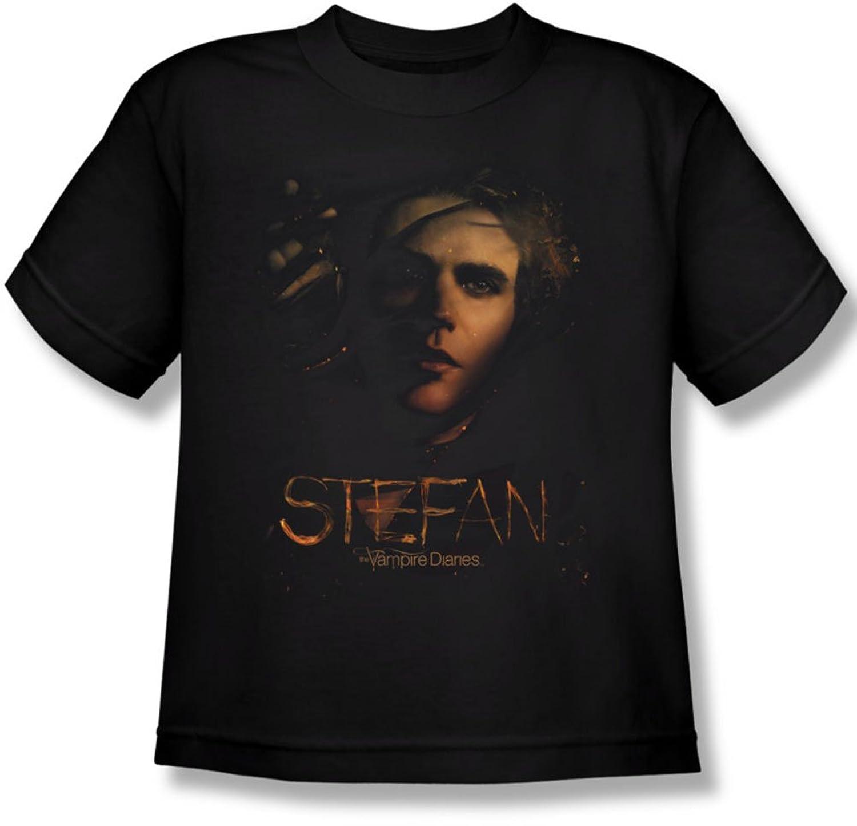 Vampire Diaries - Youth Stefan Smokey Veil T-Shirt