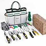 YISSVIC Garden Tools Set 12 Pieces Heavy Duty