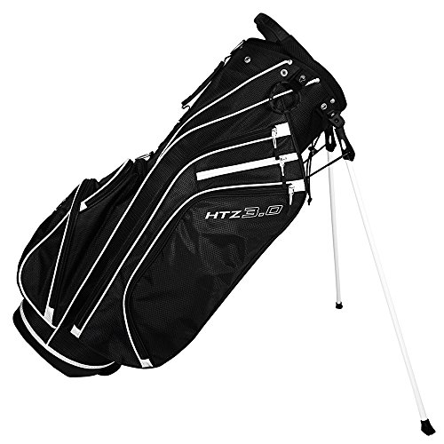 Hot-Z 2017 Golf 3.0 Stand Bag, Black/White