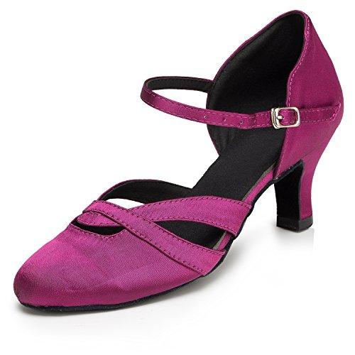 Miyoopark 6cm femme bal heel Salle Purple de wCqwFXr
