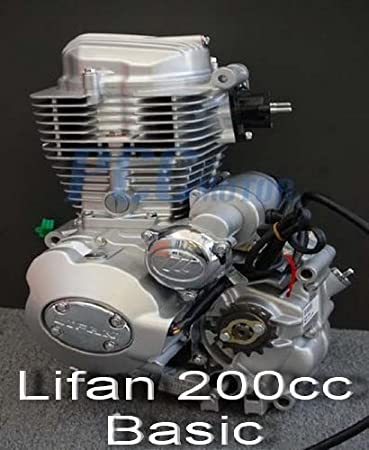 [SCHEMATICS_43NM]  Amazon.com: 70L LIFAN 200CC 5 SPD ENGINE MOTOR MOTORCYCLE DIRT BIKE ATV LIFAN  200cc Basic EN25-BASIC: Automotive | Lifan 200cc Engine Wiring Diagram |  | Amazon.com