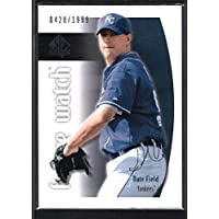 NATE FIELD 2002 SP AUTHENTIC #130 FUTURE WATCH RC YANKEES #0428/1999
