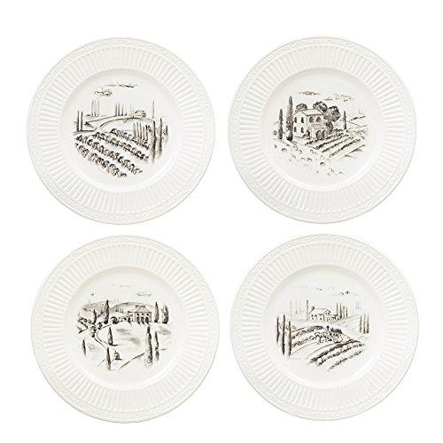 Mikasa Italian Countryside Set of 4 Accent Plates