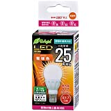LED電球 ミニクリプトン形(25形相当/280lm/電球色/E17/全方向配光280°/密閉器具対応/断熱材施工器具対応)