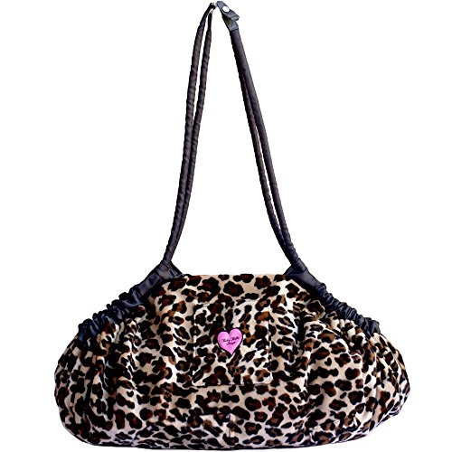 Baby Bella Maya 5 in 1 Diaper Tote Bag, Multi-Purpose Lollipop Leopard (Lollipop Diaper)