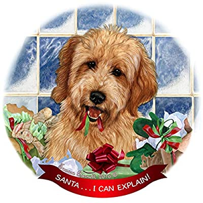 Goldendoodle-Red-Dog-Porcelain-Ornament-Pet-Gift-Santa-I-Can-Explain