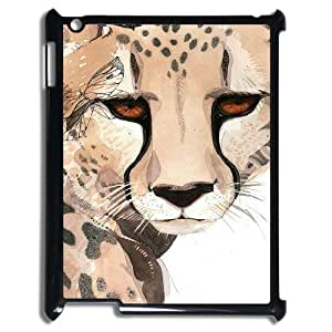 Leopard Personalized Cover Case for iPad 2,3,4, Personalized Leopard Cell Phone Case