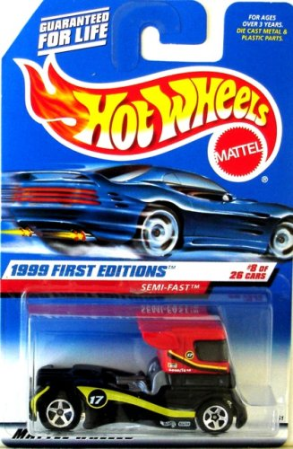 (SEMI-FAST * RED * 1999 FIRST EDITIONS SERIES #8 of 26 HOT WHEELS Basic Car 1:64 Scale Series * Collector #914)