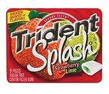 50 each: Trident Splash Strawberry Lime Gum (6712200)