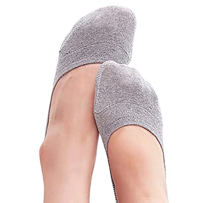 VERO MONTE 4 Pairs SPORTS No Show Socks Women Cotton No Show Socks Sports Liners at Women's Clothing store