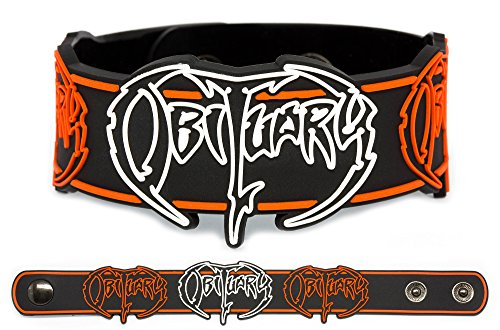 OBITUARY Rubber Bracelet Wristband Slowly We Rot Cause of Death The End Complete ()