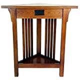 Wayborn Home Furnishing Corner End Table In Birchwood, Brown