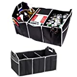 3 Section Car Trunk Organizer