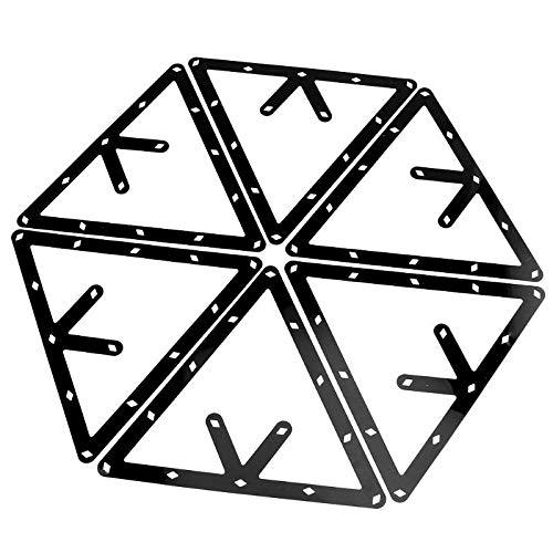 (Car accessories - New 6pcs Eight pendulum ball paper Magic Billiards Ball Rack Positioning Table Sticker Template)