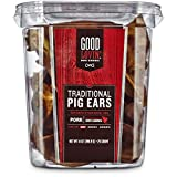 Good Lovin' Traditional Pig Ear Dog Chews, Pack of 25