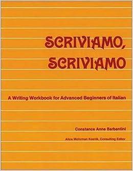Book Scriviamo, Scriviamo (Rusian: Face to Face) by Barbantini (1990-06-03)