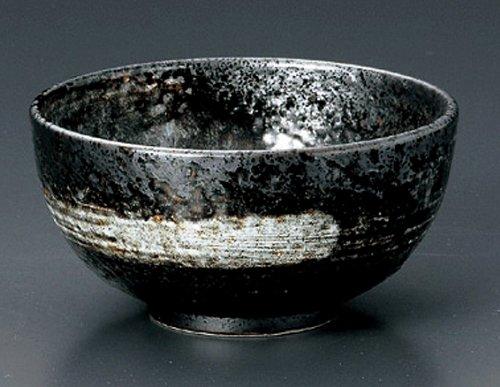 UZUSHIO Jiki Japanese Porcelain Set of 2 Ramen-Bowls for UDON,SOBA,TERIYAKI-BOWL made in JAPAN by Watou.asia