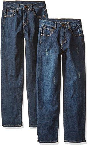 American Hawk Boys 2 Pack: Five Pocket Stretch Denim Pants