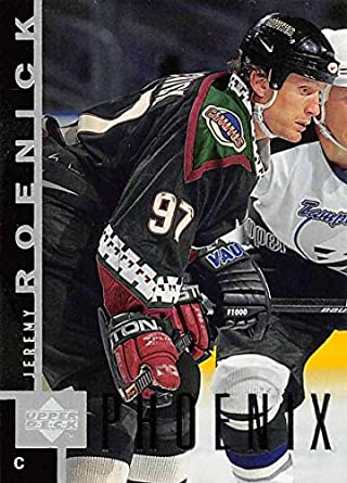 1997-98 Upper Deck Hockey Card  127 Jeremy Roenick Phoenix Coyotes Official  NHL Trading acc9e9d31