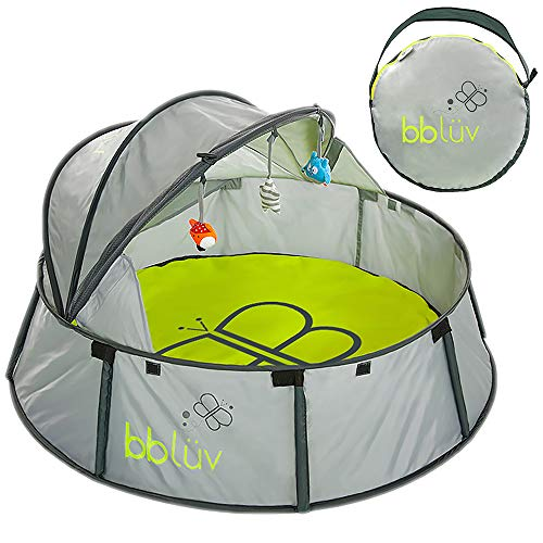 bblüv  Nidö  2in1 Travel amp Play Tent  Fun Tent with UV Protection for Infants and Toddlers