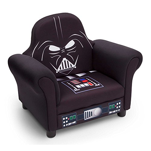 Delta™ Disney® Star Wars™ Darth Vader Children's Deluxe Upholstered Chair | 24.5'' L x 16'' W x 20'' H by Delta