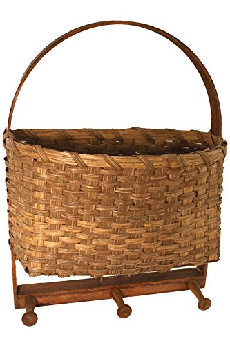 Wall Hanging Basket Weaving Kit V.I. Reed & Cane Inc. WALLHANGING