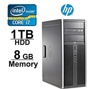 HP Elite 8200 i7 3.4GHZ , 1TB, 8GB RAM, Windows 7 Pro 64-Bit (Certified Refurbished)