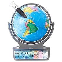 ドウシシャ しゃべる地球儀 パーフェクトグローブ HORIZON ホライ...