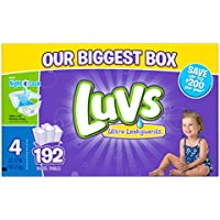 192 Count Luvs Ultra Leakguards Diapers