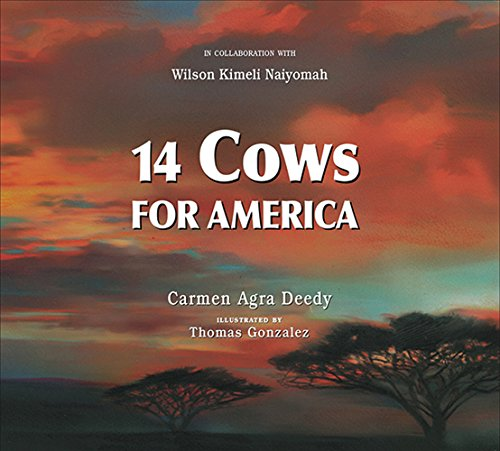 Image result for Image for 14 Cows for America by Carmen Deedy